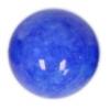 Semi-Precious 10mm Round Cobalt Candy Jade